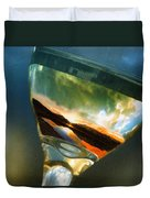 Sunset In A Glass Duvet Cover