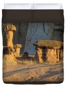 Sunset In Paria Canyon Wilderness Duvet Cover
