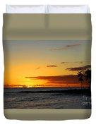 Sunset On Kauai Duvet Cover