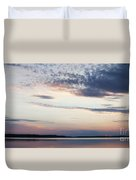 Sunset On Lovewell Duvet Cover
