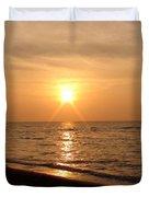 Sunset On The Gulf Duvet Cover