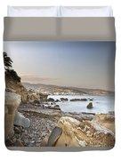 Sunset On The Mediterranean Duvet Cover