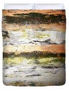 Sunset On The River Duvet Cover
