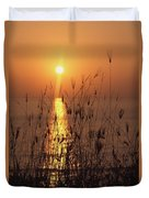 Sunset Over Pacific Duvet Cover