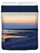 Sunset Salton Sea North Duvet Cover