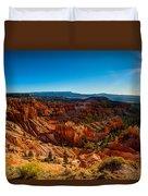 Sunset Sunrise Duvet Cover by Chad Dutson