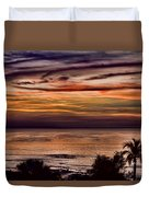 Sunset Swirl Duvet Cover