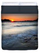 Sunset Uncovered Duvet Cover
