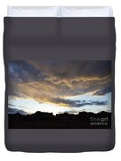 Sunset Valley Of Fire Duvet Cover