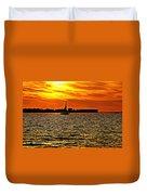 Sunset Xi Duvet Cover
