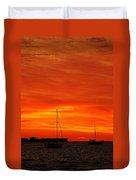 Sunset Xxvii Duvet Cover