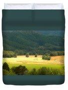 Sunshine In The Valley Duvet Cover