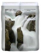 Sunwapta Falls 2 Duvet Cover