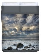Surf At Gillespies Beach Near Fox Duvet Cover