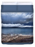 Surface Clouds Duvet Cover