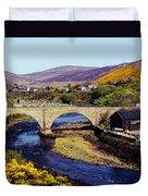 Sutherland Scotland Duvet Cover