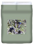 Swallows In Pooler Duvet Cover