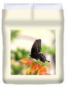Swallowtail - Lite And Lively Duvet Cover