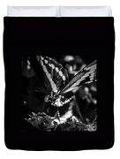 Swallowtail On Lantana Duvet Cover