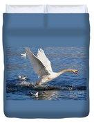 Swan Take Off Duvet Cover