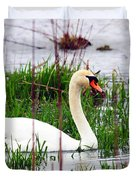 Swan's Marsh Duvet Cover