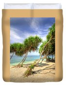 Swaying Palm Trees Duvet Cover