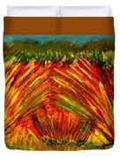 Sweeping Fields Duvet Cover