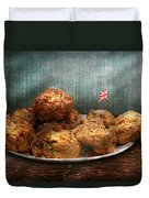 Sweet - Scone - Scones Anyone Duvet Cover by Mike Savad