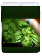 Sweet Basil From The Garden Duvet Cover