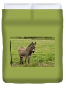 Sweet Little Donkey Duvet Cover