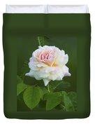 Sweet Morning Peace Rose Duvet Cover