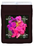 Sweet Pea Pop Out Square Duvet Cover