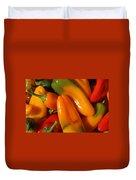 Sweet Peppers Duvet Cover