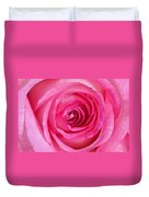 Sweet Pink Rose IIi Duvet Cover