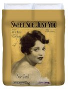 Sweet Sue Just You Duvet Cover