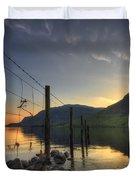 Sweet Wave Of Sunset Duvet Cover