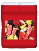 Sweets And Candy Mix Duvet Cover