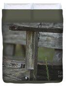 Swing In The Woods Duvet Cover