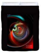 Swirl Of Colors Duvet Cover