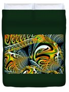 Swirling Colors Duvet Cover