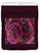 Swirling Energy Duvet Cover