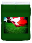 Swiss Flag Duvet Cover