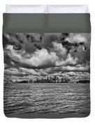 Sydney-black And White Duvet Cover