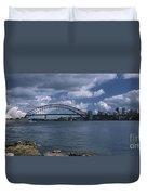 Sydney Harbor Australia Duvet Cover