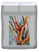 Symphony Of Branches Duvet Cover