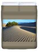 Symphony Of The Sand Duvet Cover by Bob Christopher