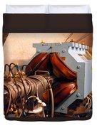 Synchrotron Alignment Magnet Duvet Cover