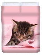 Tabby Kitten Duvet Cover
