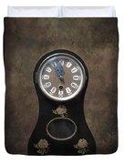 Table Clock Duvet Cover