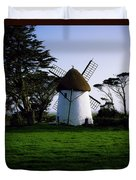 Tacumshane Windmill, Co Wexford, Ireland Duvet Cover